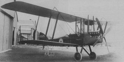 "Royal Aircraft Factory B.E.2e ""Quirk""."